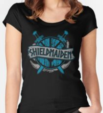 shieldmaiden #6 Women's Fitted Scoop T-Shirt