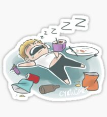 Sleeping Niall Sticker