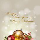 Christmas card 22 by EbyArts