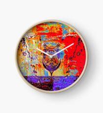 Wine Spill Clock