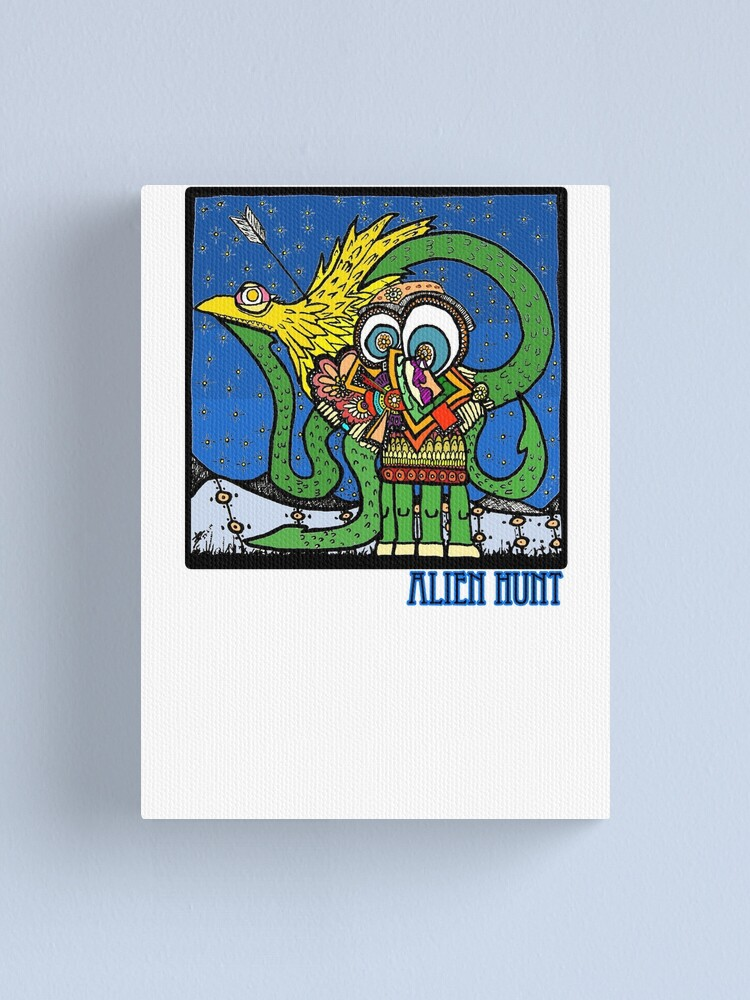 Alternate view of Alien Hunt Canvas Print