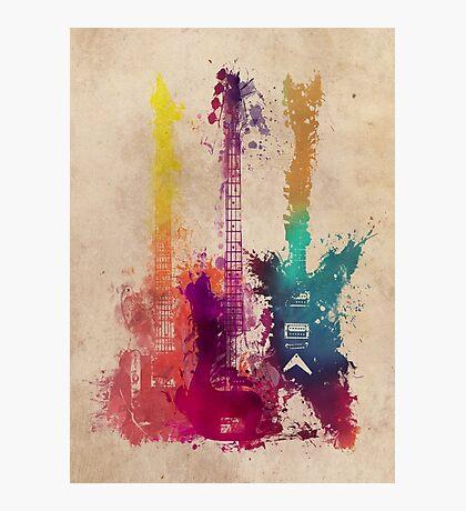guitars 2 Photographic Print
