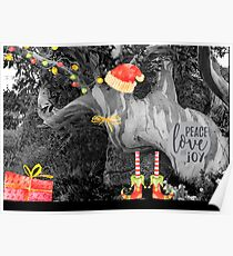 Peace, Love & Joy in Nature Poster