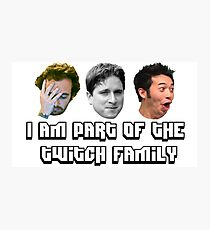 Twitch Family Photographic Print
