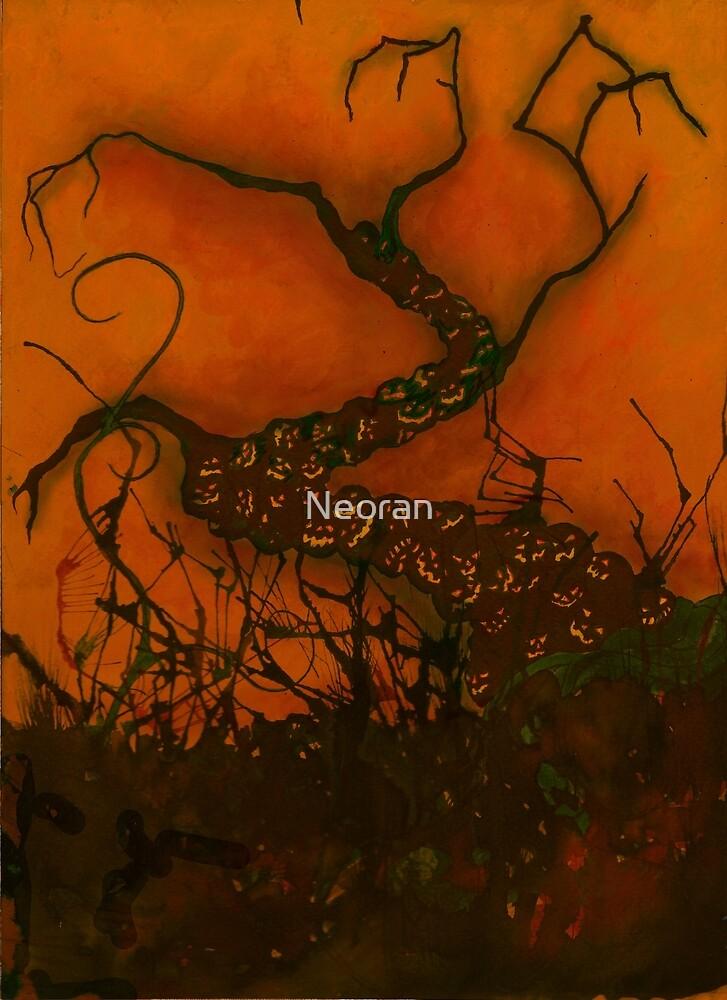 Spooky Halloween Tree by Neoran