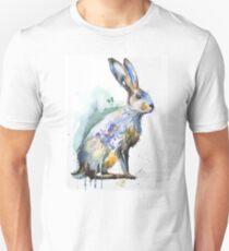 Hare watercolor Unisex T-Shirt