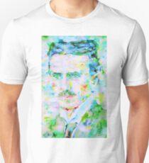 NIKOLA TESLA watercolor portrait Unisex T-Shirt