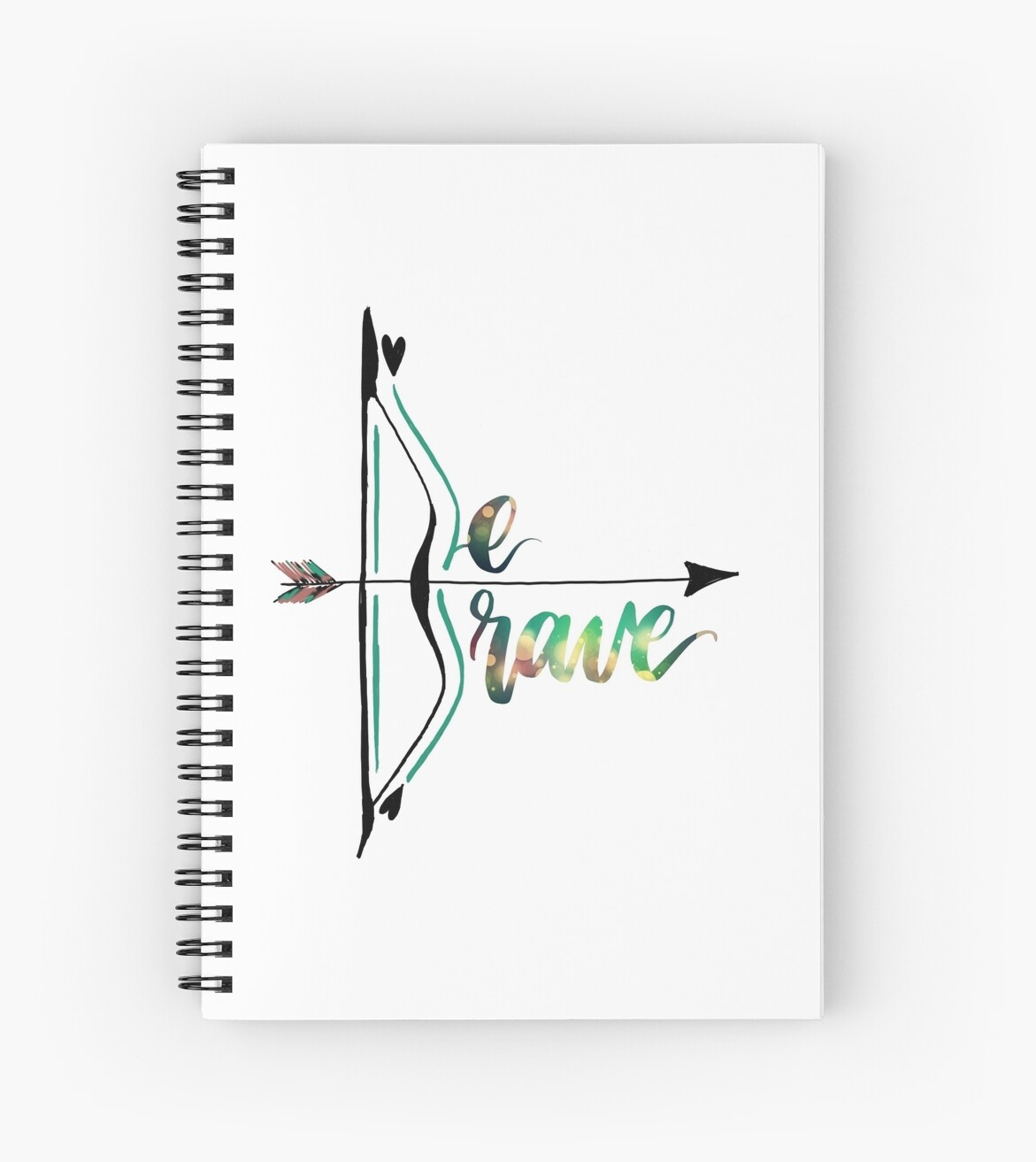 Be Brave With Bow and Arrow by Myda Muckala