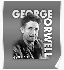 George Orwell: Posters | Redbubble