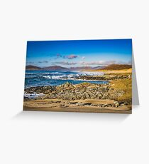Bagh Steinigidh, Scarista, Isle of Harris Greeting Card