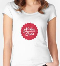 Bottlecap, Nuka Cola, Fallout Women's Fitted Scoop T-Shirt