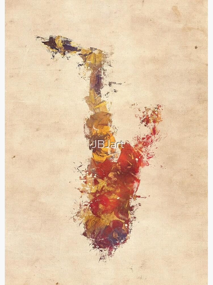 saxophone art by JBJart