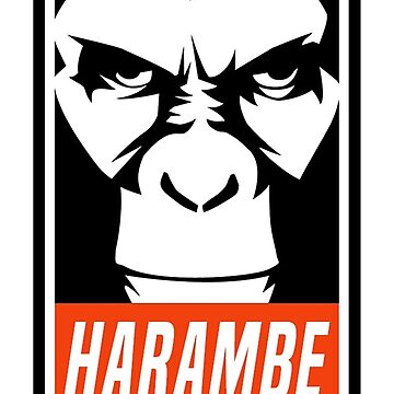 Harambe by RadTeez