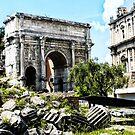 Roman Forum by George Grimekis