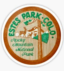 Estes Park Colorado Rocky Mountain National Park Sticker