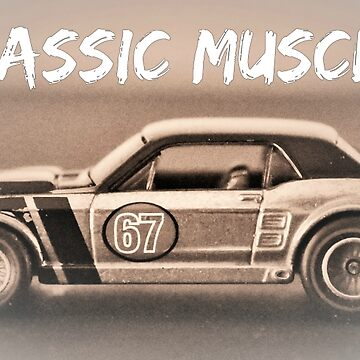 Mustang car by pacoce1