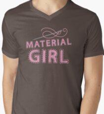 MATERIAL GIRL Men's V-Neck T-Shirt