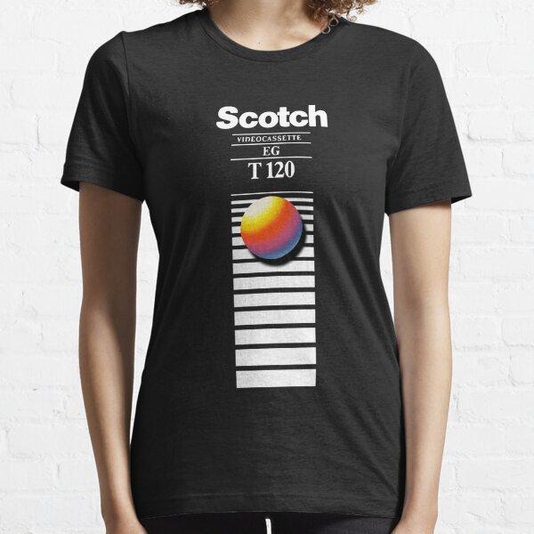 Retro VHS tape vaporwave aesthetic Camiseta esencial