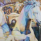 Neptune's Sea Horses, Florence by Christiane  Kingsley