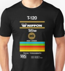 Retro VHS tape vaporwave aesthetic Unisex T-Shirt