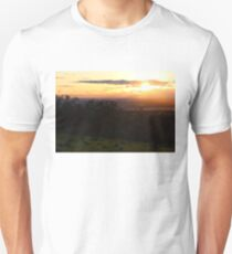 Chico, CA Sunset from Old 32 Unisex T-Shirt