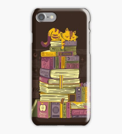 Sleeping On My Treasure iPhone Case/Skin