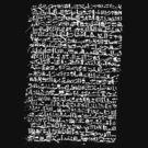 Ancient Egyptian Hieroglyphics by cadellin