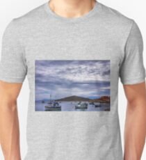 Boats in the Bay Unisex T-Shirt