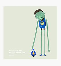 Kevin Durant the Warrior Photographic Print