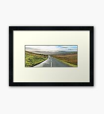 The Dales and Trails Framed Print