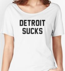 Lester Bangs - Detroit Sucks Women's Relaxed Fit T-Shirt