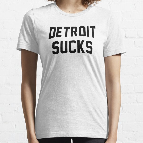 Lester Bangs - Detroit Sucks Essential T-Shirt