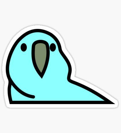PartyParrot - Light Blue Sticker
