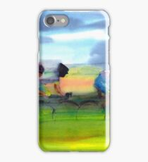 Through the Fields iPhone Case/Skin