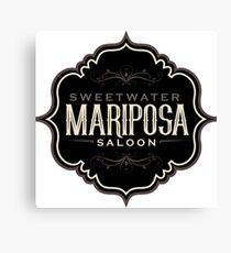 Mariposa Saloon Westworld Canvas Print