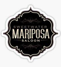Mariposa Saloon Westworld Sticker