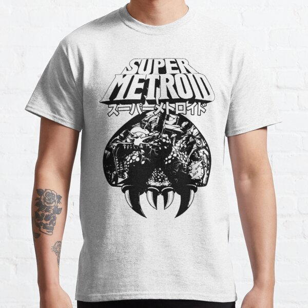 Super Metroid (edición clásica japonesa) Camiseta clásica