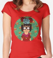 Tina Kahlo Women's Fitted Scoop T-Shirt