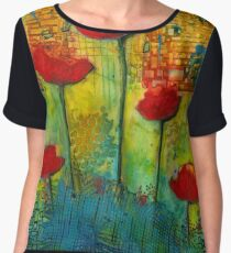 Flowers for My Son - March 2016 Women's Chiffon Top