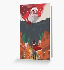 [Christmas] Shingeki No Kyojin (Attack On Titan) Greeting Card