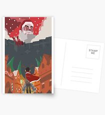 [Christmas] Shingeki No Kyojin (Attack On Titan) Postcards