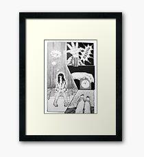 Waking Framed Print