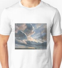 Study of Clouds with a Sunset near Rome - Simon Denis - ca. 1790 Unisex T-Shirt