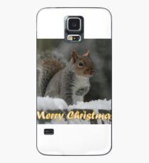 Merry Christmas - Squirrel Case/Skin for Samsung Galaxy