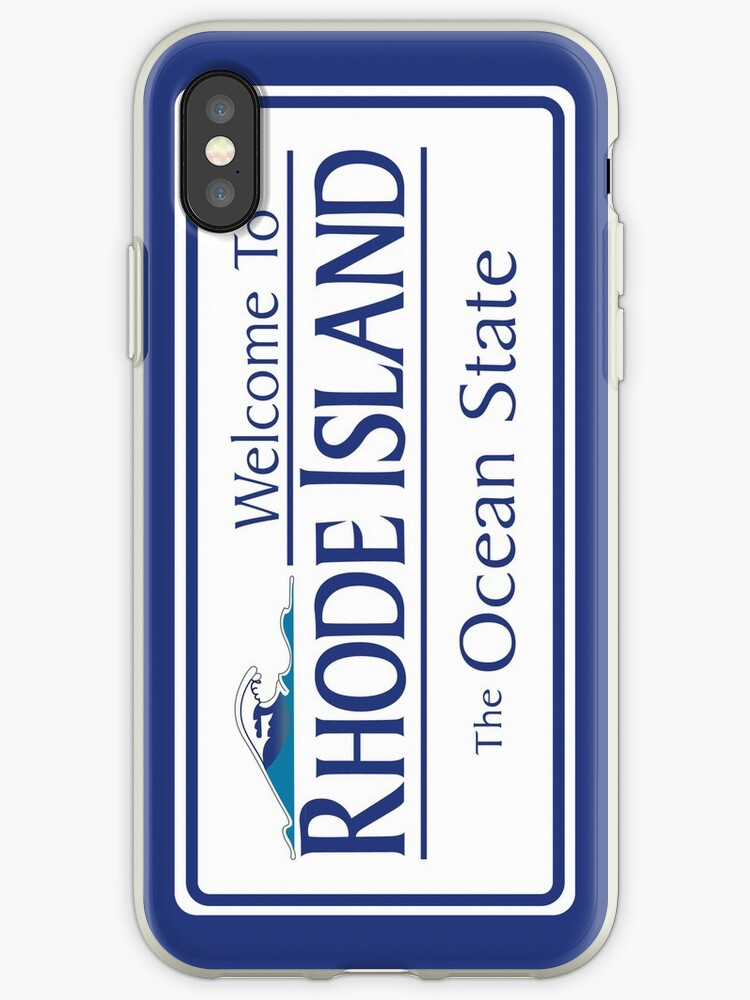 Welcome to Rhode Island The Ocean State, Road Sign, USA by worldofsigns