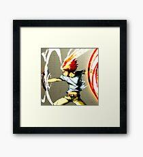 X-Burner Framed Print