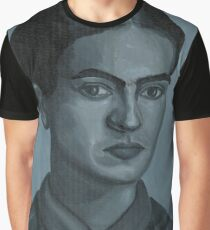 Gray Frida Graphic T-Shirt