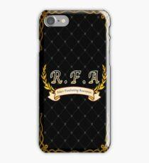 RFA App Background iPhone Case/Skin