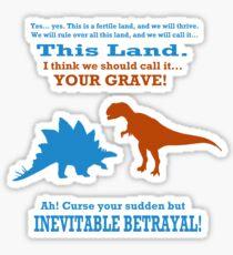 Curse Your Sudden But Inevitable Betrayal! Sticker