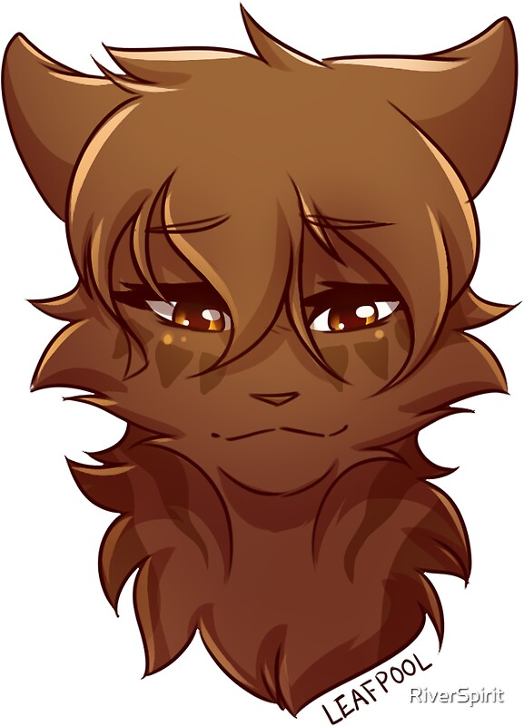 Quot Warriors Stickers Leafpool Quot Stickers By Riverspirit